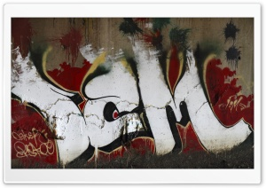 Under The Bridge Graffiti HD Wide Wallpaper for Widescreen