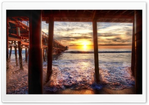 Under The Pier HD Wide Wallpaper for 4K UHD Widescreen desktop & smartphone