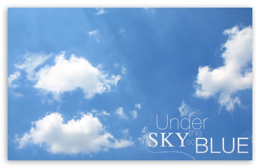 Under the Sky so Blue 2 HD wallpaper for Standard 4:3 5:4 Fullscreen UXGA XGA SVGA QSXGA SXGA ; Wide 16:10 5:3 Widescreen WHXGA WQXGA WUXGA WXGA WGA ; HD 16:9 High Definition WQHD QWXGA 1080p 900p 720p QHD nHD ; Other 3:2 DVGA HVGA HQVGA devices ( Apple PowerBook G4 iPhone 4 3G 3GS iPod Touch ) ; Mobile VGA WVGA iPhone iPad PSP Phone - VGA QVGA Smartphone ( PocketPC GPS iPod Zune BlackBerry HTC Samsung LG Nokia Eten Asus ) WVGA WQVGA Smartphone ( HTC Samsung Sony Ericsson LG Vertu MIO ) HVGA Smartphone ( Apple iPhone iPod BlackBerry HTC Samsung Nokia ) Sony PSP Zune HD Zen ; Tablet 2 Android 3 DVGA HVGA HQVGA devices ( Apple PowerBook G4 iPhone 4 3G 3GS iPod Touch ) ;