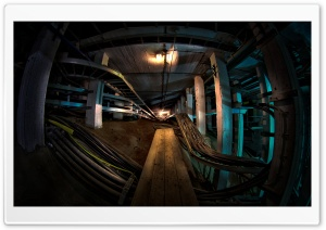 Underground Cables HD Wide Wallpaper for Widescreen