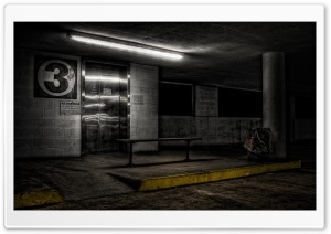 Underground Parking HD Wide Wallpaper for 4K UHD Widescreen desktop & smartphone