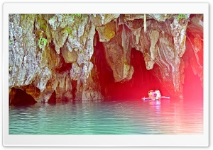 Underground River HD Wide Wallpaper for Widescreen