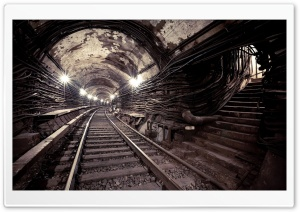 Underground Roads HD Wide Wallpaper for Widescreen