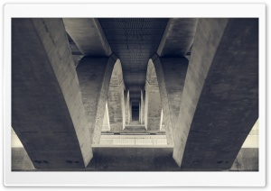 Underneath a Bridge HD Wide Wallpaper for Widescreen