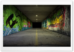 Underpass HD Wide Wallpaper for Widescreen