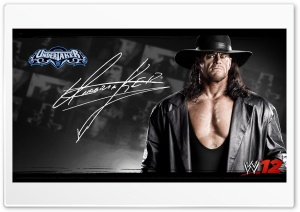 UnderTaker_WWE12 HD Wide Wallpaper for 4K UHD Widescreen desktop & smartphone