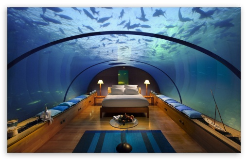 Underwater Bedroom HD wallpaper for Standard 4:3 5:4 Fullscreen UXGA XGA SVGA QSXGA SXGA ; Wide 16:10 5:3 Widescreen WHXGA WQXGA WUXGA WXGA WGA ; HD 16:9 High Definition WQHD QWXGA 1080p 900p 720p QHD nHD ; Other 3:2 DVGA HVGA HQVGA devices ( Apple PowerBook G4 iPhone 4 3G 3GS iPod Touch ) ; Mobile VGA WVGA iPhone iPad PSP Phone - VGA QVGA Smartphone ( PocketPC GPS iPod Zune BlackBerry HTC Samsung LG Nokia Eten Asus ) WVGA WQVGA Smartphone ( HTC Samsung Sony Ericsson LG Vertu MIO ) HVGA Smartphone ( Apple iPhone iPod BlackBerry HTC Samsung Nokia ) Sony PSP Zune HD Zen ; Tablet 2 Android ; Dual 4:3 5:4 16:10 UXGA XGA SVGA QSXGA SXGA WHXGA WQXGA WUXGA WXGA ;
