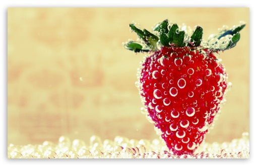 Underwater Strawberry, Macro HD wallpaper for Wide 16:10 5:3 Widescreen WHXGA WQXGA WUXGA WXGA WGA ; HD 16:9 High Definition WQHD QWXGA 1080p 900p 720p QHD nHD ; Standard 4:3 5:4 3:2 Fullscreen UXGA XGA SVGA QSXGA SXGA DVGA HVGA HQVGA devices ( Apple PowerBook G4 iPhone 4 3G 3GS iPod Touch ) ; Tablet 1:1 ; iPad 1/2/Mini ; Mobile 4:3 5:3 3:2 16:9 5:4 - UXGA XGA SVGA WGA DVGA HVGA HQVGA devices ( Apple PowerBook G4 iPhone 4 3G 3GS iPod Touch ) WQHD QWXGA 1080p 900p 720p QHD nHD QSXGA SXGA ;