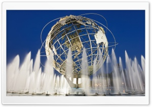 Unisphere New York City HD Wide Wallpaper for 4K UHD Widescreen desktop & smartphone