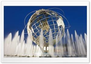 Unisphere New York City HD Wide Wallpaper for Widescreen