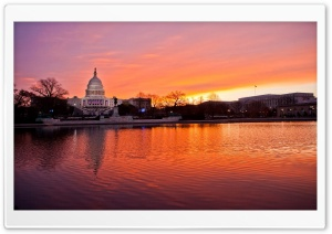 United States Capitol, Washington D.C. HD Wide Wallpaper for Widescreen
