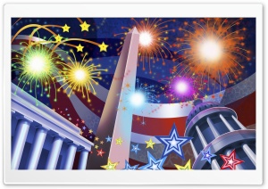 United States Independence Day HD Wide Wallpaper for Widescreen