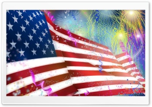 United States Independence Day, July 4 HD Wide Wallpaper for Widescreen