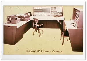 Univac Computer History HD Wide Wallpaper for 4K UHD Widescreen desktop & smartphone