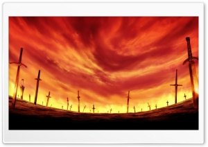 Unlimited Blade Works HD Wide Wallpaper for Widescreen