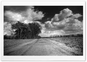 Unpaved Road HD Wide Wallpaper for Widescreen