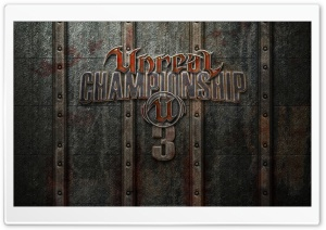 Unreal Championship 3 HD Wide Wallpaper for Widescreen