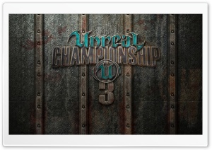 Unreal Championship 3 Game HD Wide Wallpaper for Widescreen