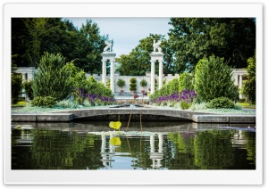 Untermyer Park HD Wide Wallpaper for Widescreen