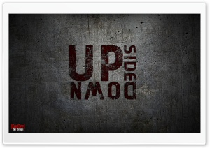 UPSIDE DOWN HD Wide Wallpaper for Widescreen