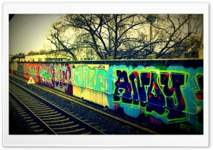 Urban Art at Koln HD Wide Wallpaper for Widescreen