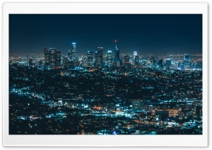 Urban Night HD Wide Wallpaper for Widescreen