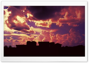 Urban Sky HD Wide Wallpaper for Widescreen