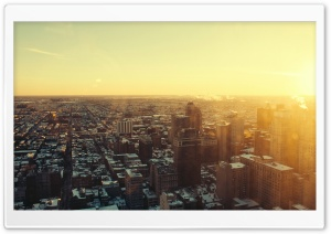 Urban Sunrise HD Wide Wallpaper for Widescreen