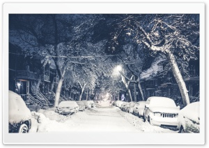 Urban Winter HD Wide Wallpaper for Widescreen