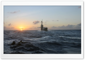 US Military Submarine HD Wide Wallpaper for Widescreen