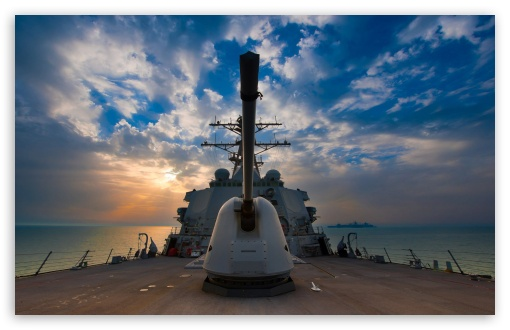 Download US Navy Destroyer  U.s. Navy Desktop Wallpaper