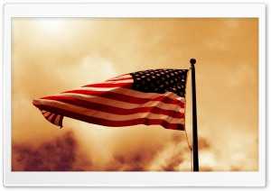 USA Flag HD Wide Wallpaper for Widescreen
