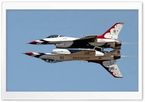 Usaf Thunderbirds F16 Fighting Falcons HD Wide Wallpaper for Widescreen