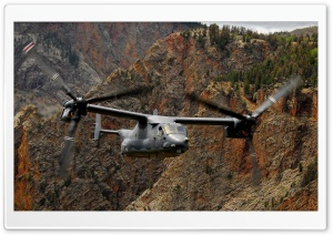 USAF V-22 Osprey HD Wide Wallpaper for Widescreen