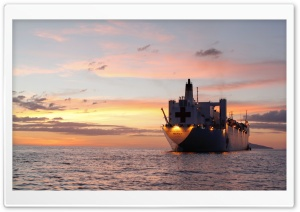 USNS Mercy Ship HD Wide Wallpaper for Widescreen