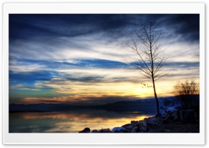 Utah Lake HD Wide Wallpaper for Widescreen