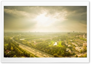 Utrecht Panorama HD Wide Wallpaper for Widescreen