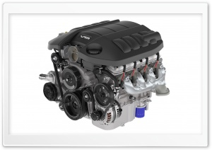 V8 Engine HD Wide Wallpaper for Widescreen