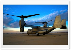 V-22 Osprey Aircraft HD Wide Wallpaper for Widescreen