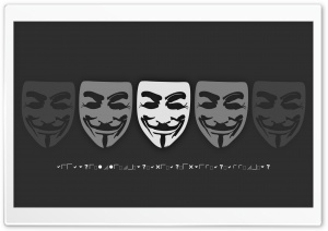 V for Vendetta HD Wide Wallpaper for Widescreen