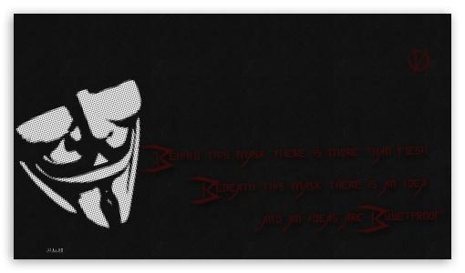V For Vendetta Ultra Hd Desktop Background Wallpaper For 4k Uhd Tv
