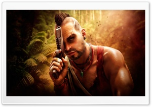 Vaas Far Cry 3 HD Wide Wallpaper for Widescreen