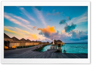 Vacation, Constance Halaveli Resort, Maldives HD Wide Wallpaper for 4K UHD Widescreen desktop & smartphone