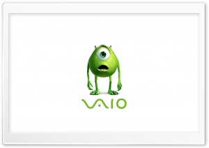 Vaio Green Eye HD Wide Wallpaper for Widescreen