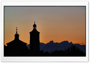 Valdemoro Church HD Wide Wallpaper for Widescreen