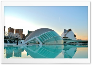 Valencia City Of Art&Science HD Wide Wallpaper for Widescreen