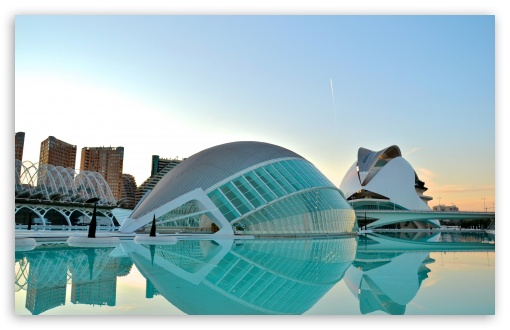 Valencia City Of Art&Science HD wallpaper for Standard 4:3 5:4 Fullscreen UXGA XGA SVGA QSXGA SXGA ; Wide 16:10 5:3 Widescreen WHXGA WQXGA WUXGA WXGA WGA ; HD 16:9 High Definition WQHD QWXGA 1080p 900p 720p QHD nHD ; Other 3:2 DVGA HVGA HQVGA devices ( Apple PowerBook G4 iPhone 4 3G 3GS iPod Touch ) ; Mobile VGA WVGA iPhone iPad PSP Phone - VGA QVGA Smartphone ( PocketPC GPS iPod Zune BlackBerry HTC Samsung LG Nokia Eten Asus ) WVGA WQVGA Smartphone ( HTC Samsung Sony Ericsson LG Vertu MIO ) HVGA Smartphone ( Apple iPhone iPod BlackBerry HTC Samsung Nokia ) Sony PSP Zune HD Zen ; Tablet 2 Android 3 DVGA HVGA HQVGA devices ( Apple PowerBook G4 iPhone 4 3G 3GS iPod Touch ) ; Dual 4:3 5:4 16:10 5:3 16:9 UXGA XGA SVGA QSXGA SXGA WHXGA WQXGA WUXGA WXGA WGA WQHD QWXGA 1080p 900p 720p QHD nHD ;