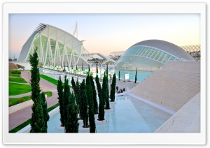 Valencia City Of Art&amp;Science HD Wide Wallpaper for Widescreen