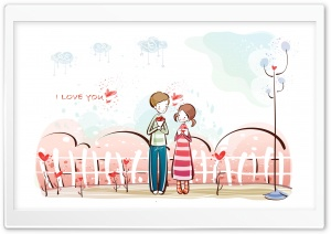Valentine's Day Date HD Wide Wallpaper for Widescreen