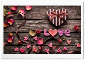 Valentine's Day Gift HD Wide Wallpaper for Widescreen
